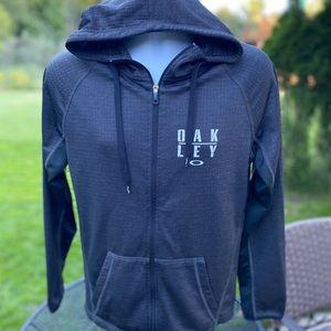 *Oakley* lightweight hoodie zip sweatshirt - S